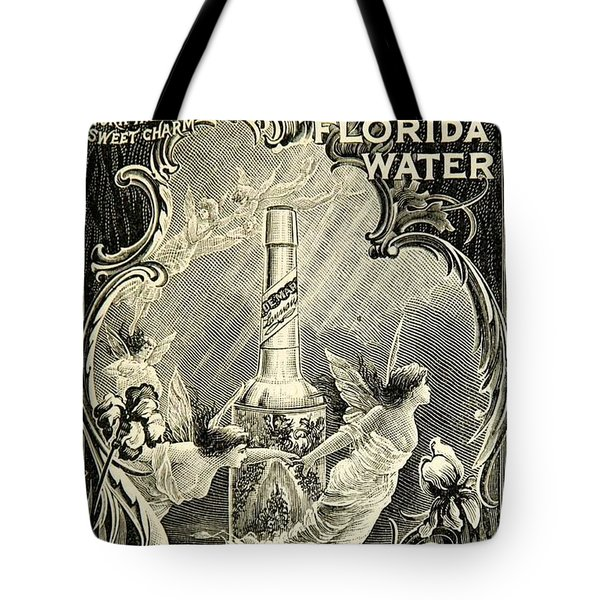 Tote Bag featuring the digital art Florida Water by ReInVintaged