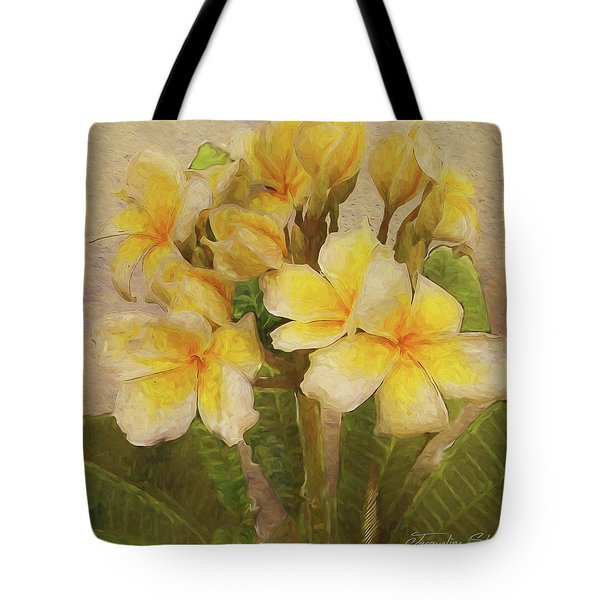 Floridian Bouquet Tote Bag