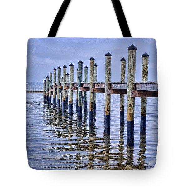 Floridian Pier  Tote Bag