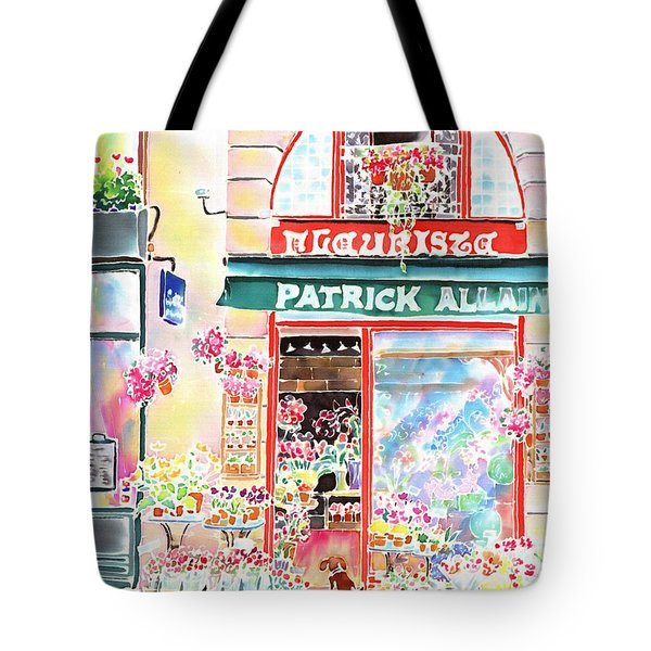 Florist In Ile St.louis Tote Bag