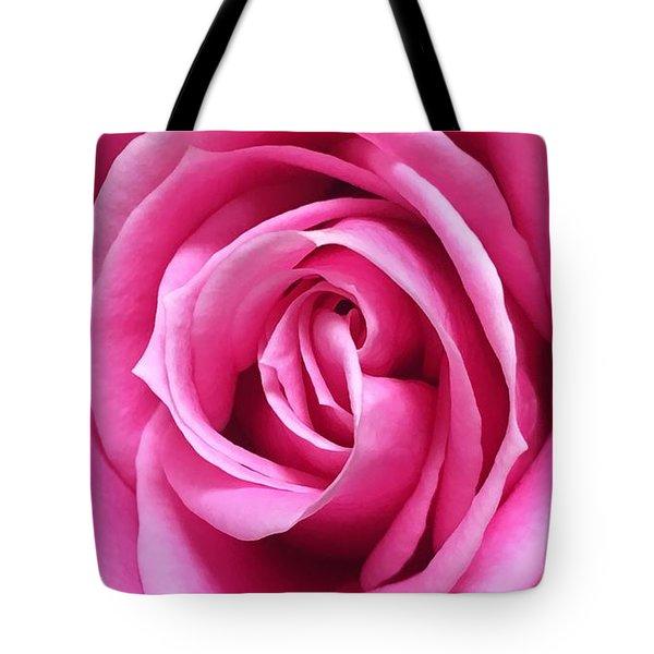 Flourishing Pink Tote Bag