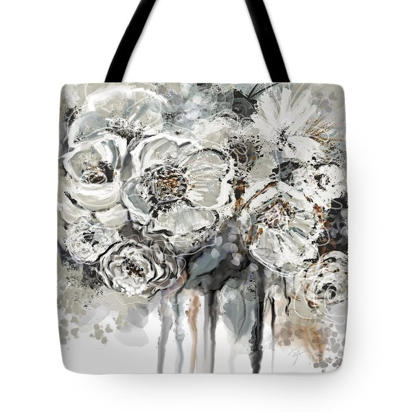 Floral Anxiety  Tote Bag
