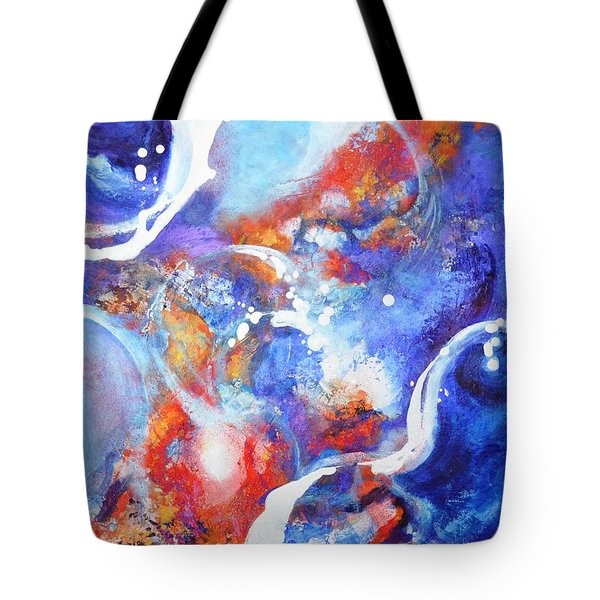 Flow Tote Bag by Betty M M Wong