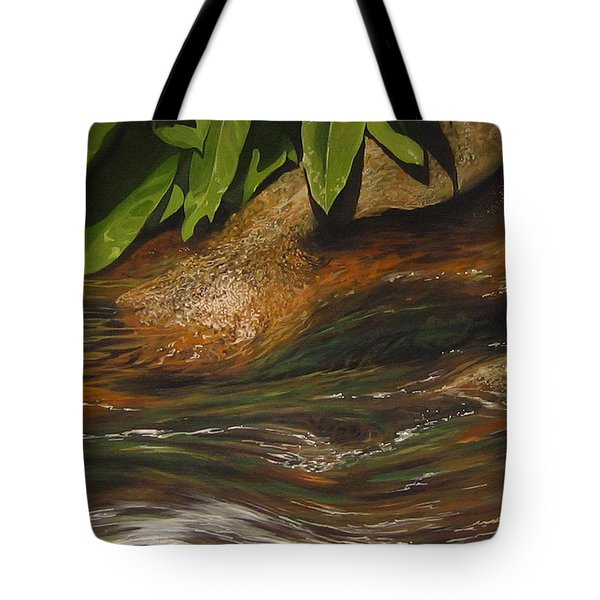Flow Tote Bag by Hunter Jay