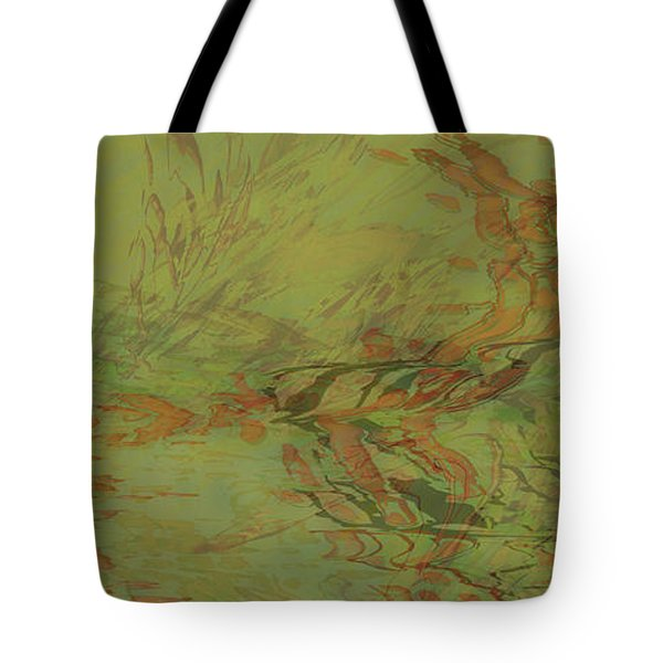 Flow Improvement In The Grass Tote Bag