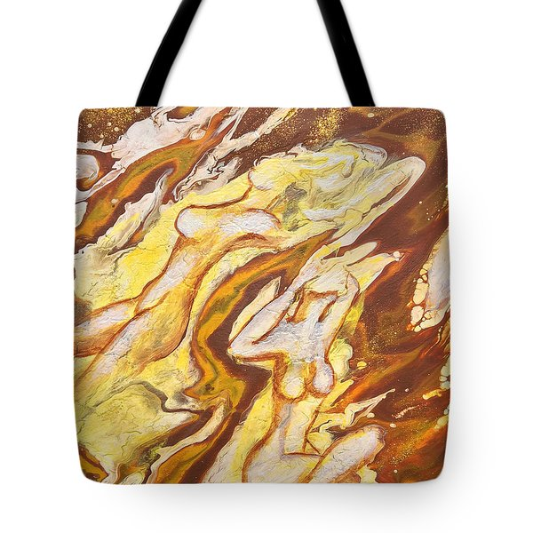 Flow Tote Bag by Jacqueline Martin
