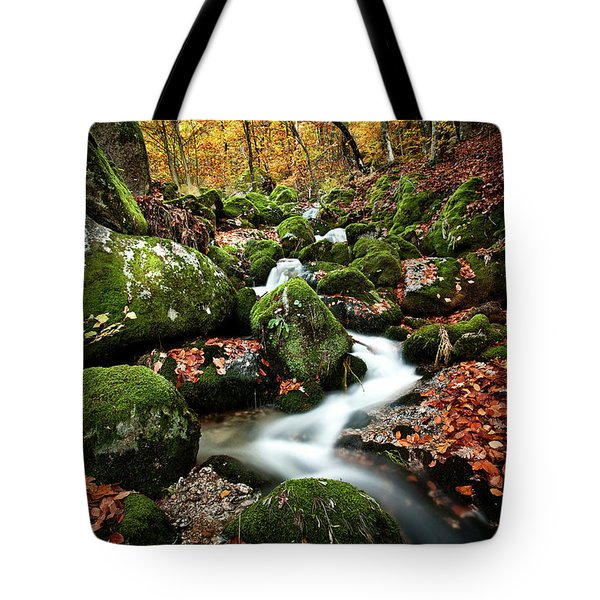 Flow Tote Bag by Jorge Maia