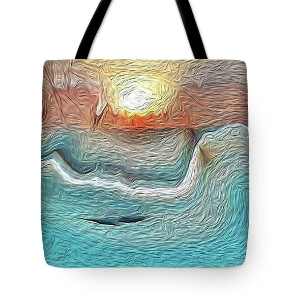 Flow Of Creation Tote Bag