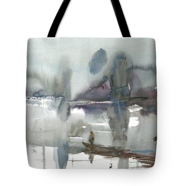 Flowed River Tote Bag