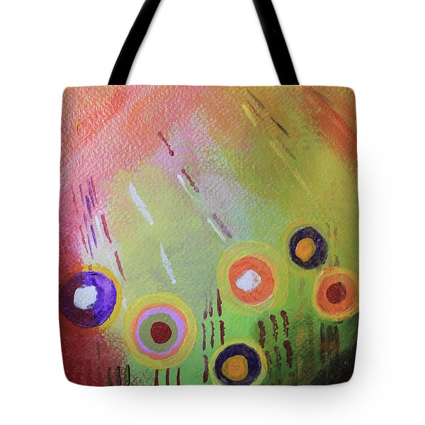 Flower 1 Abstract Tote Bag