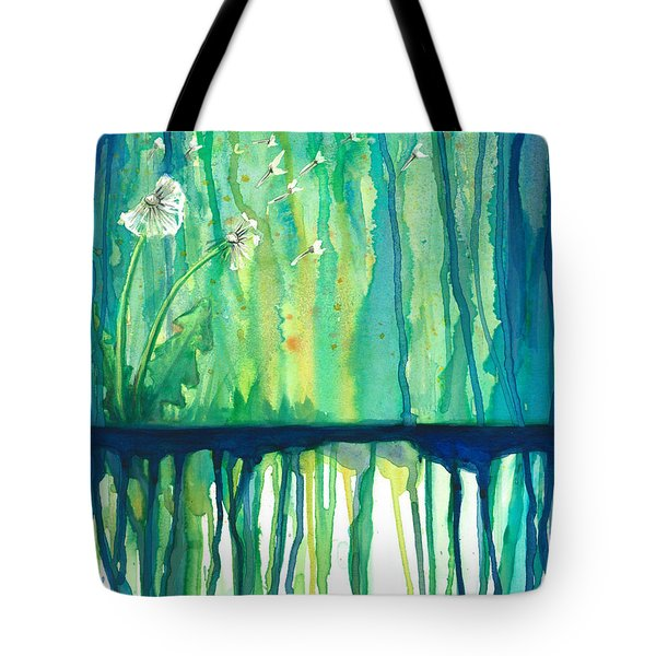 Flower #2 Tote Bag by Rebecca Childs