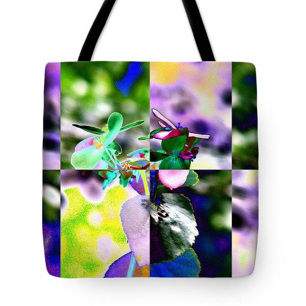 Flower 2 Tote Bag by Tim Allen