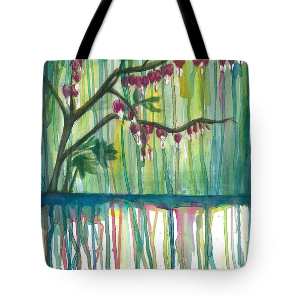Flower #3 Tote Bag by Rebecca Childs
