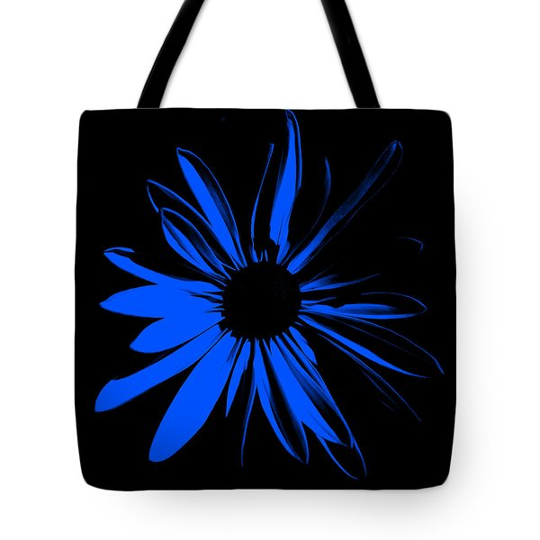 Tote Bag featuring the digital art Flower 4 by Maggy Marsh