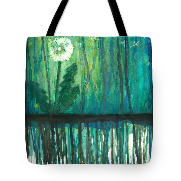 Flower #4 Tote Bag by Rebecca Childs
