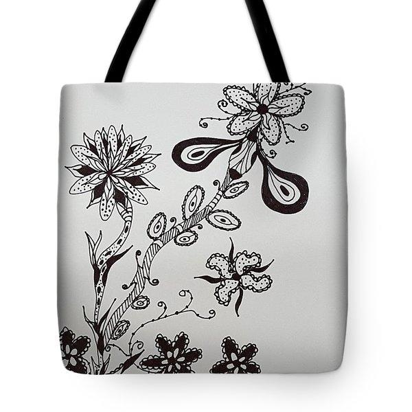 Flower 8 Tote Bag
