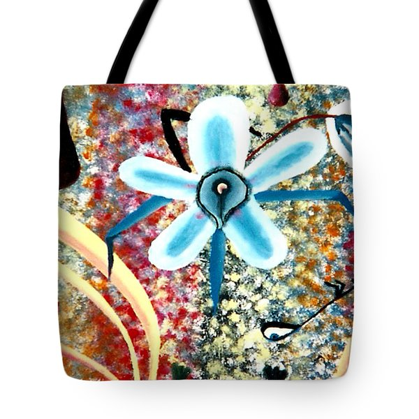 Flower And Ant Tote Bag