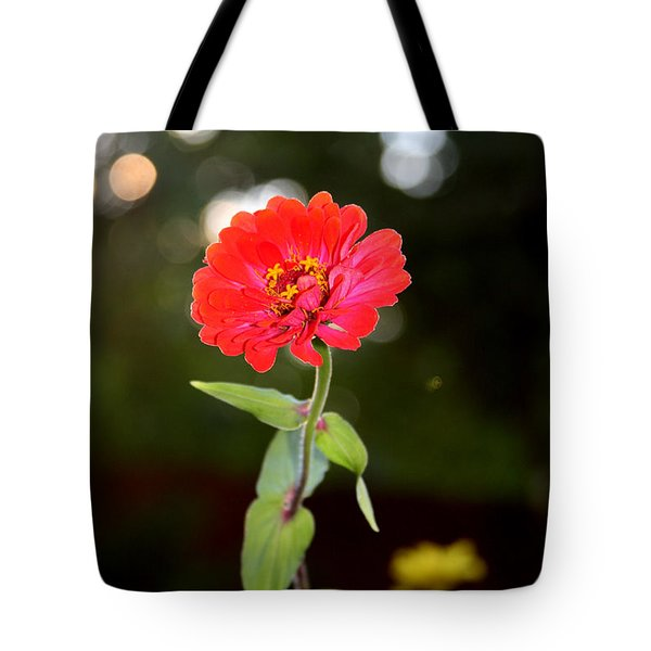 Tote Bag featuring the photograph Flower And Hope by Vadim Levin