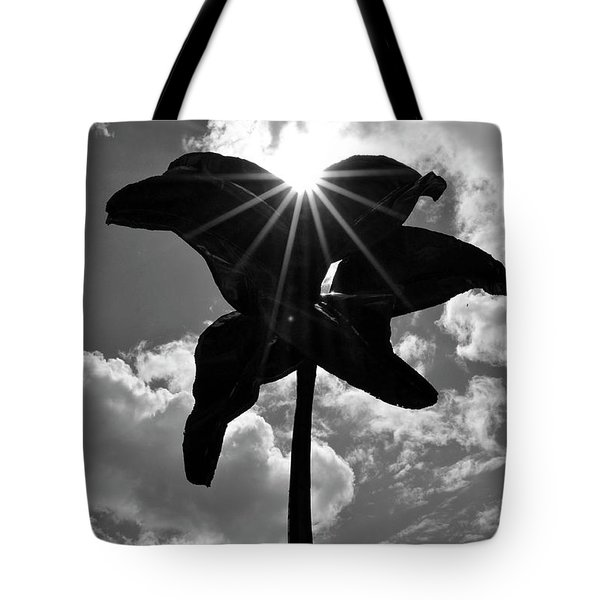 Tote Bag featuring the photograph Flower Art by Zawhaus Photography