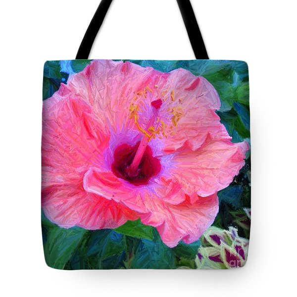 Flower At The Cape Tote Bag