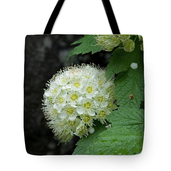 Tote Bag featuring the photograph Flower Ball by Rod Wiens