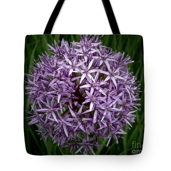 Flower Ball Tote Bag by Tim Good
