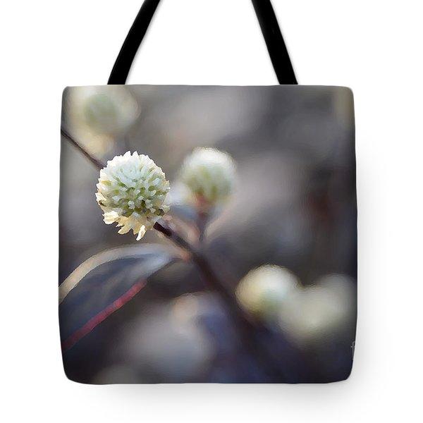 Flower Bokeh Tote Bag