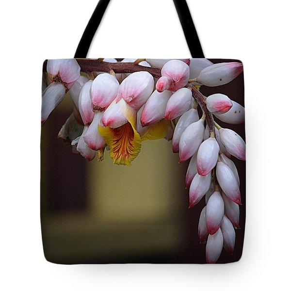 Flower Buds Tote Bag