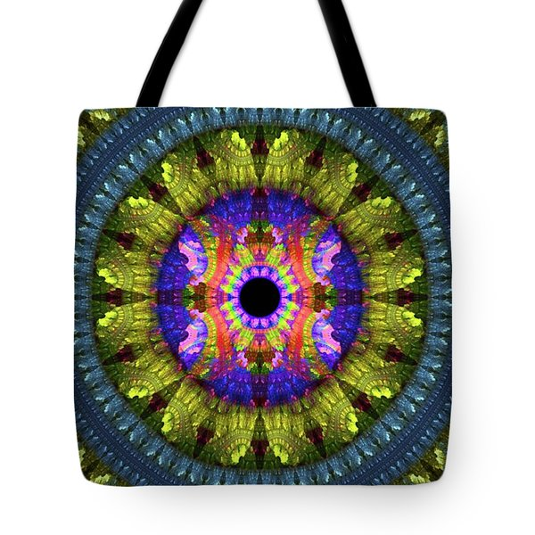 Flower Carpet Tote Bag