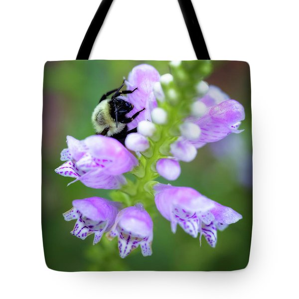 Flower Climbing Tote Bag by Eduard Moldoveanu