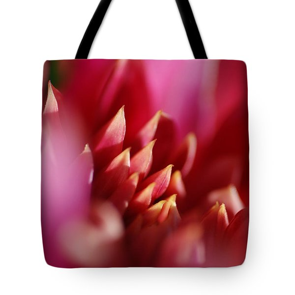 Flower Close Up Tote Bag by Catherine Lau