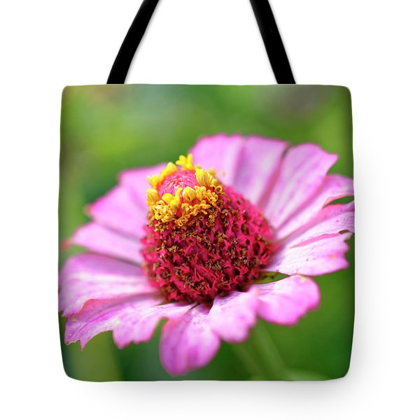 Flower Close-up Tote Bag