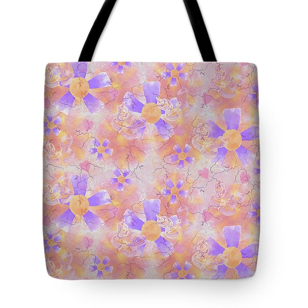 Flower Clown Pattern Tote Bag