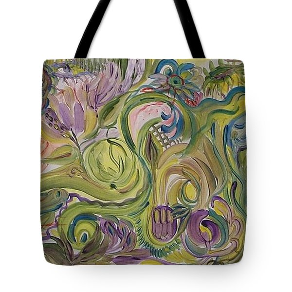 Flower Composition Tote Bag by Rita Fetisov
