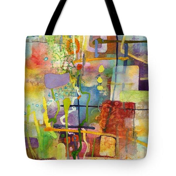Flower Dance Tote Bag by Hailey E Herrera