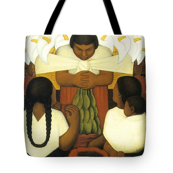 Flower Day Tote Bag