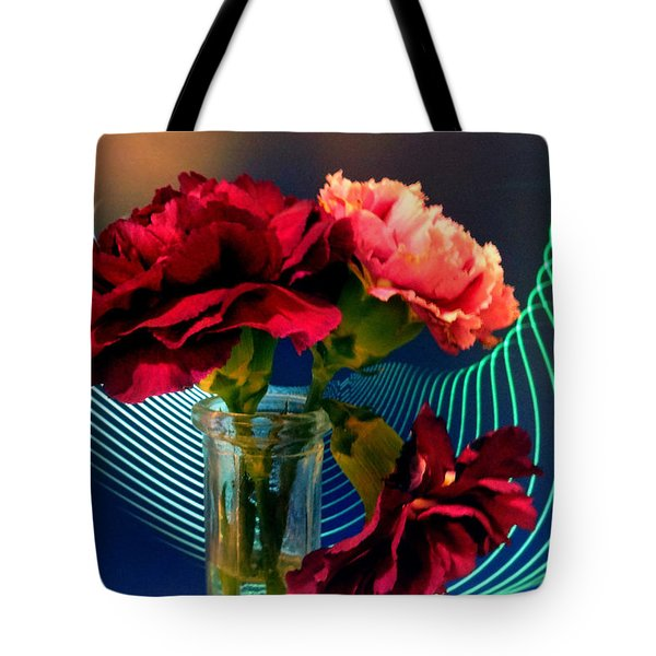 Flower Decor Tote Bag