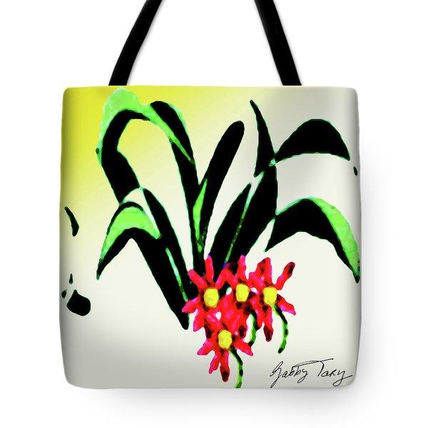 Flower Design #2 Tote Bag