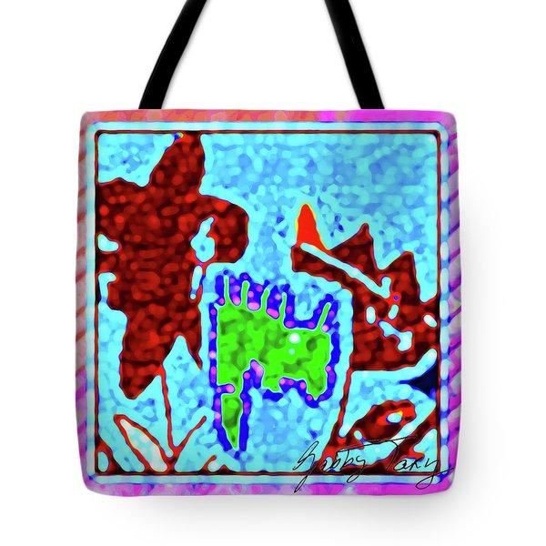 Flower Design #3 Tote Bag