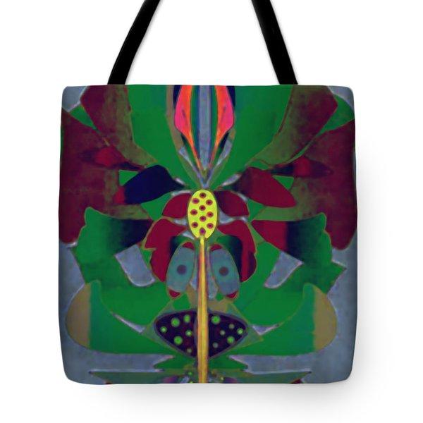 Flower Design Tote Bag