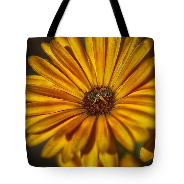 The Flower Inspector Tote Bag