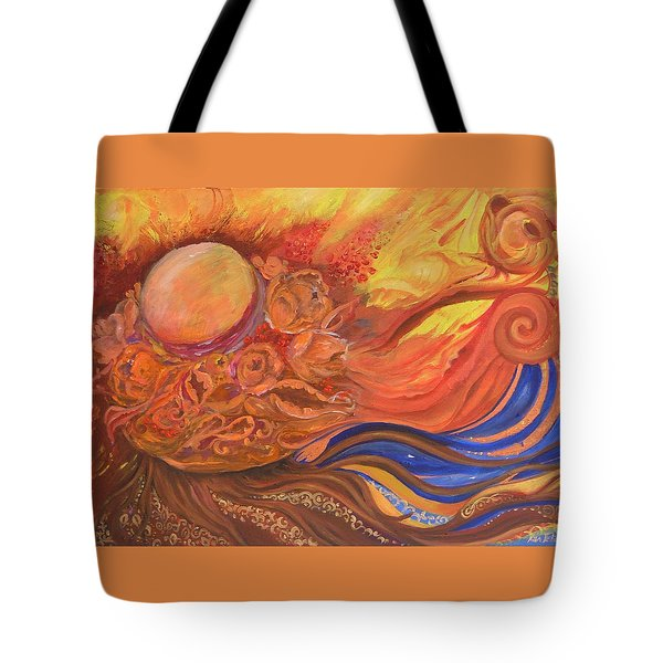 Flower Dream Tote Bag by Rita Fetisov
