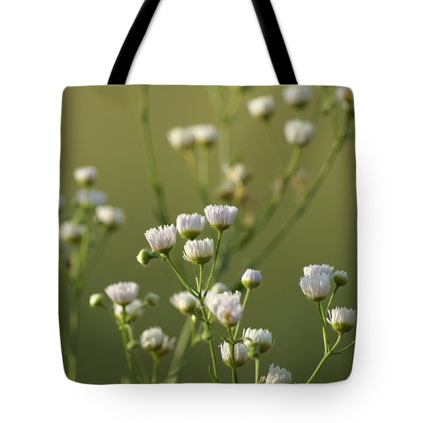 Flower Drops Tote Bag