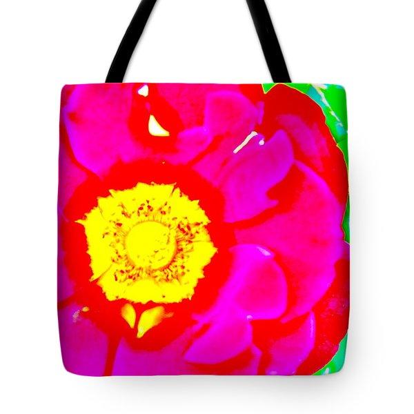 Flower Effect #3 Tote Bag by Joe  Burns