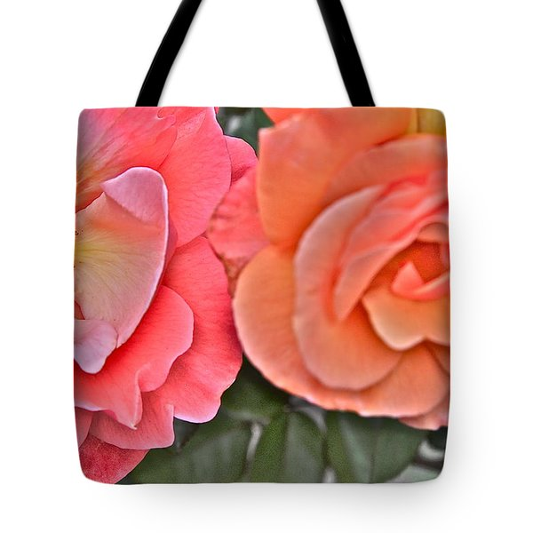 Flower Effect #4 Tote Bag