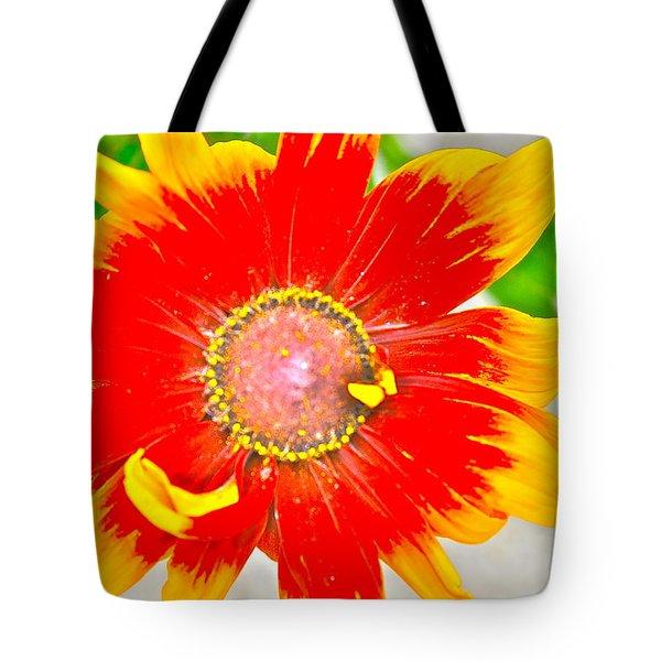 Flower Effect #5 Tote Bag by Joe  Burns