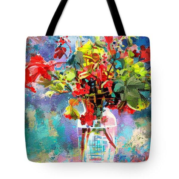 Flower Festival Tote Bag