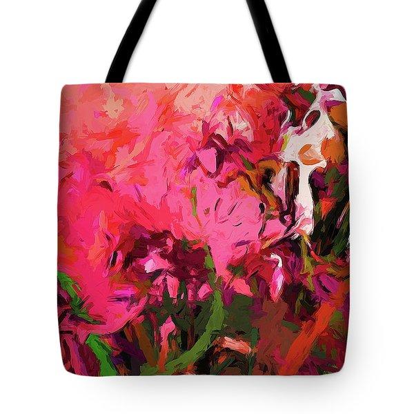 Flower Flames Soul Pink Tote Bag