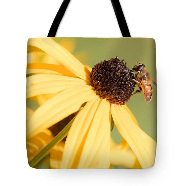 Flower Fly Tote Bag