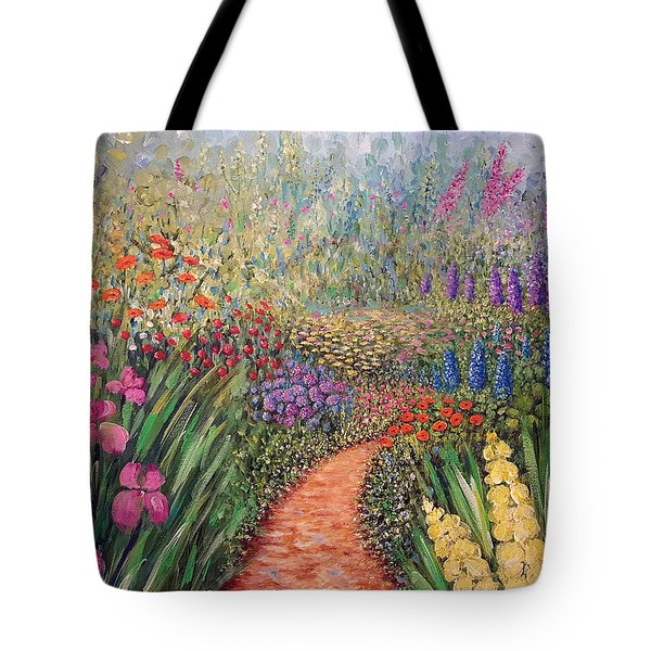 Flower Gar02den  Tote Bag